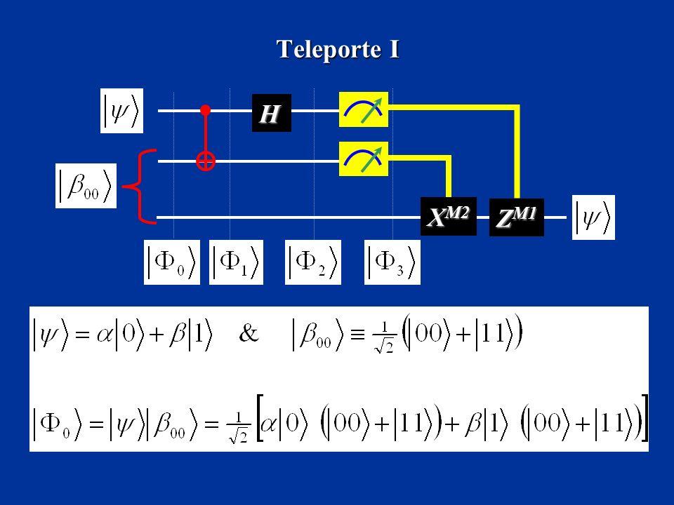 Teleporte I H XM2 ZM1