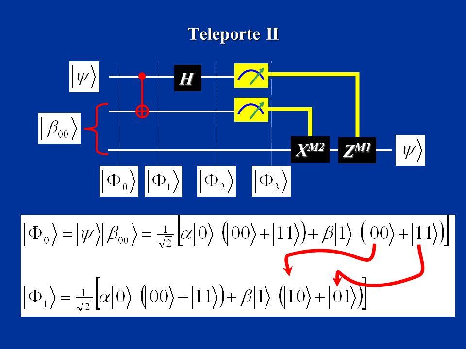 Teleporte II H XM2 ZM1