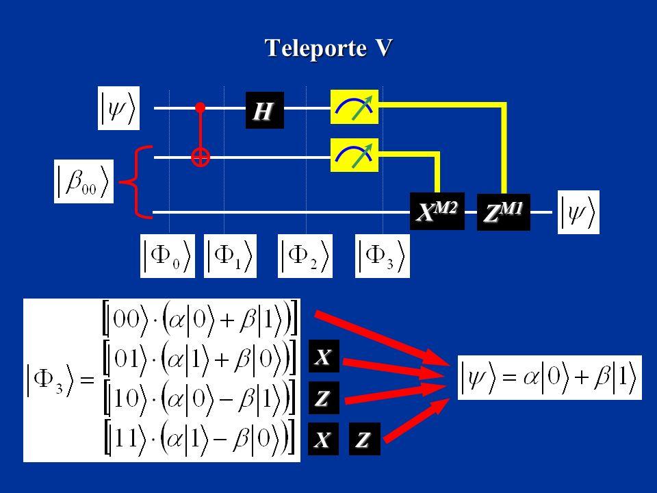 Teleporte V H XM2 ZM1 X Z X Z