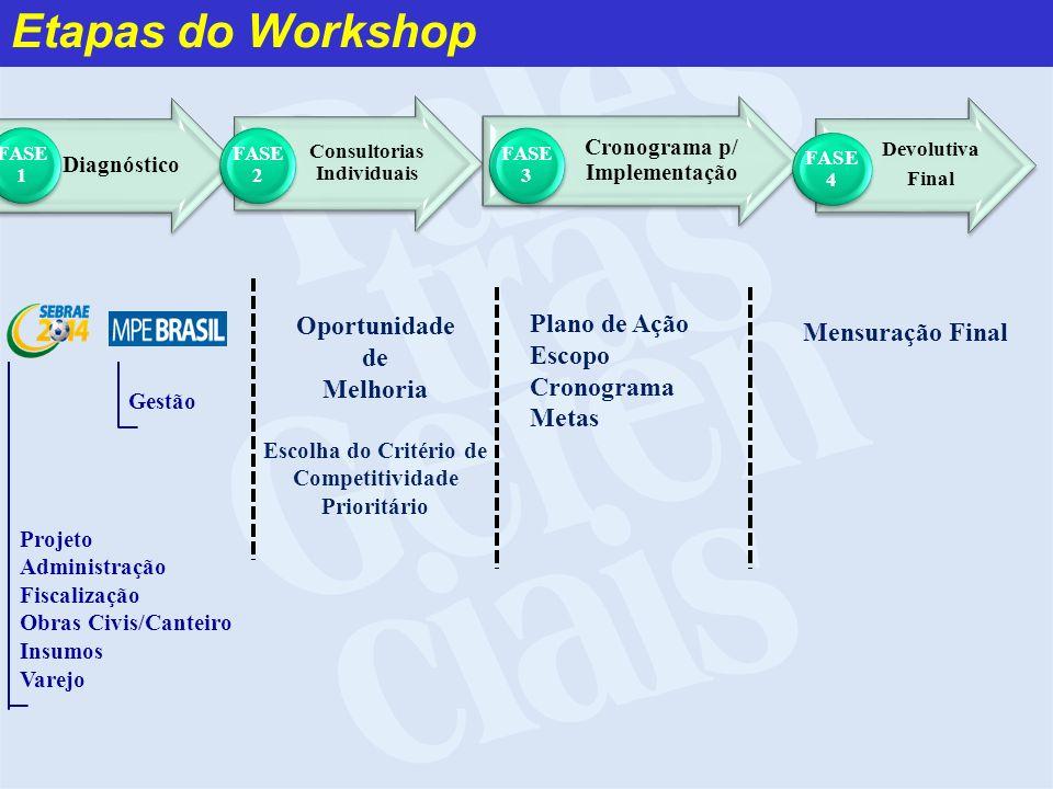 Consultorias Individuais Cronograma p/ Implementação