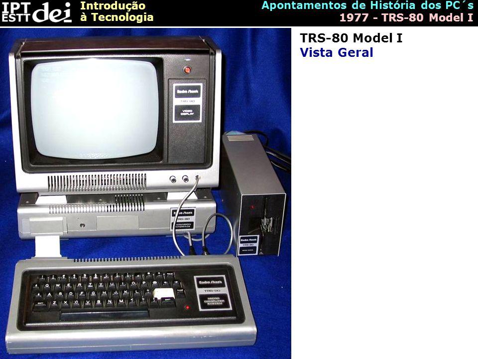 TRS-80 Model I Vista Geral