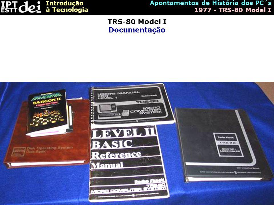 TRS-80 Model I Documentação