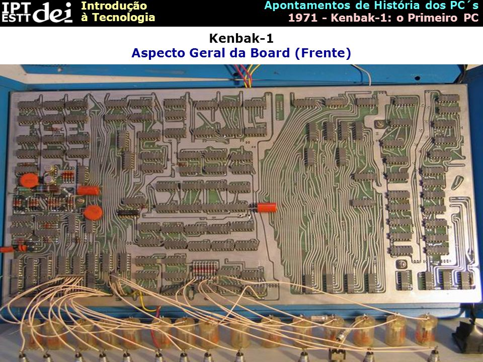 Kenbak-1 Aspecto Geral da Board (Frente)
