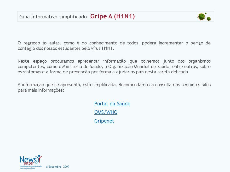 Portal da Saúde OMS/WHO Gripenet