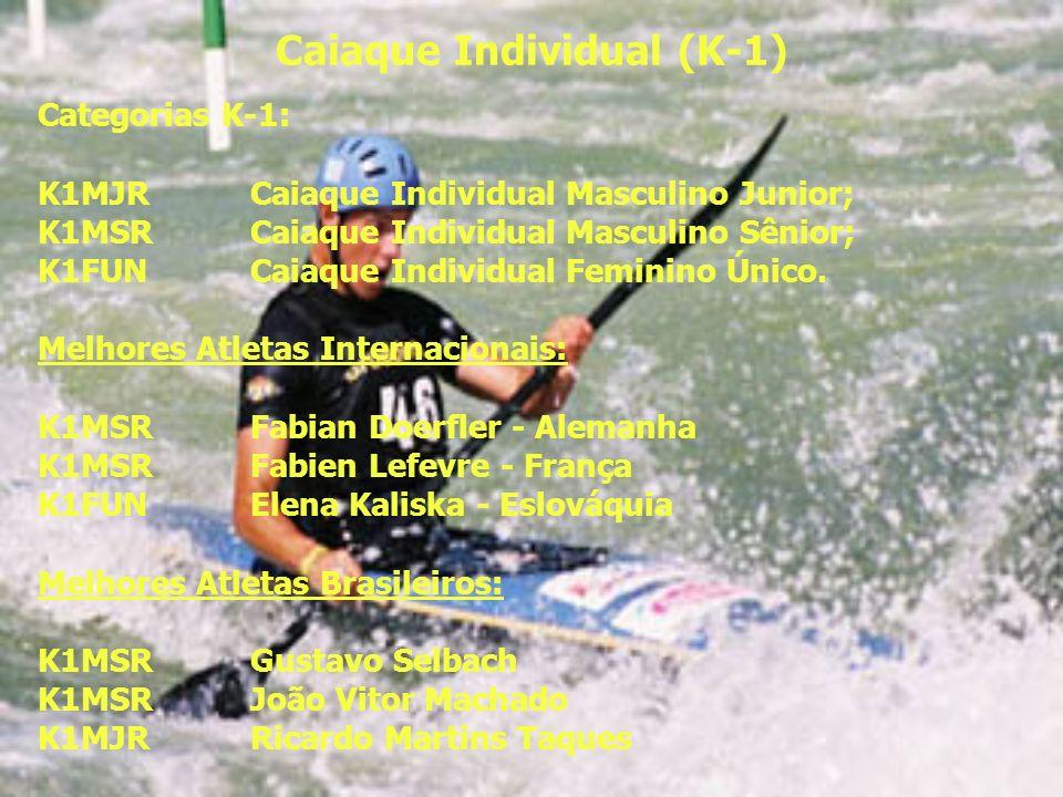 Caiaque Individual (K-1)