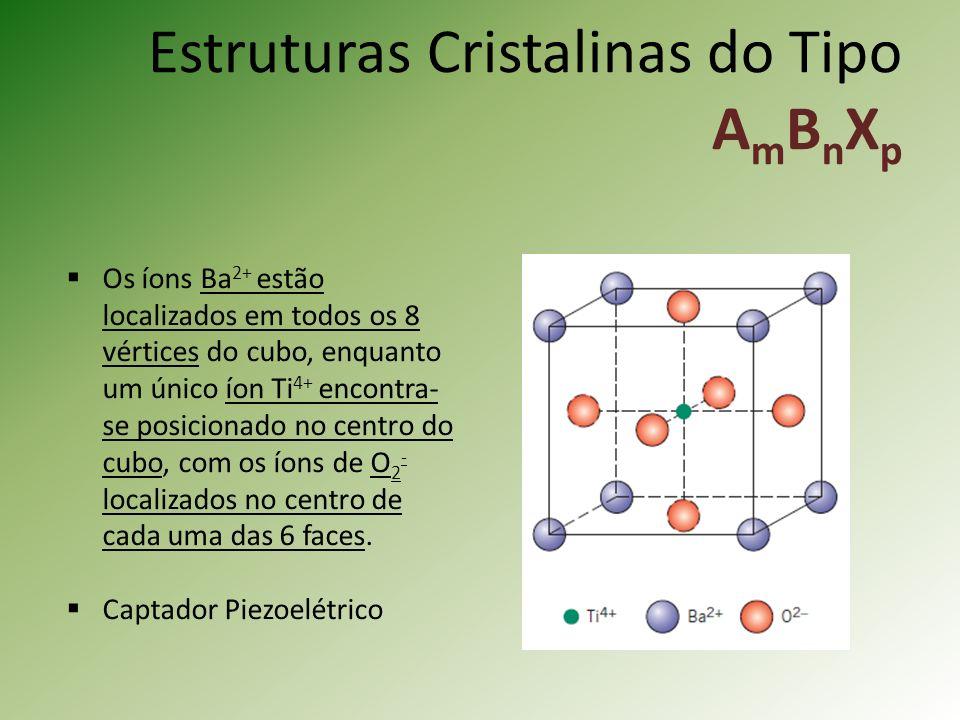 Estruturas Cristalinas do Tipo AmBnXp
