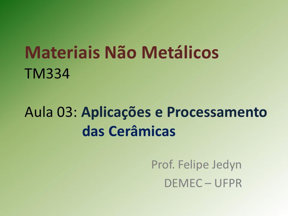 Prof. Felipe Jedyn DEMEC – UFPR