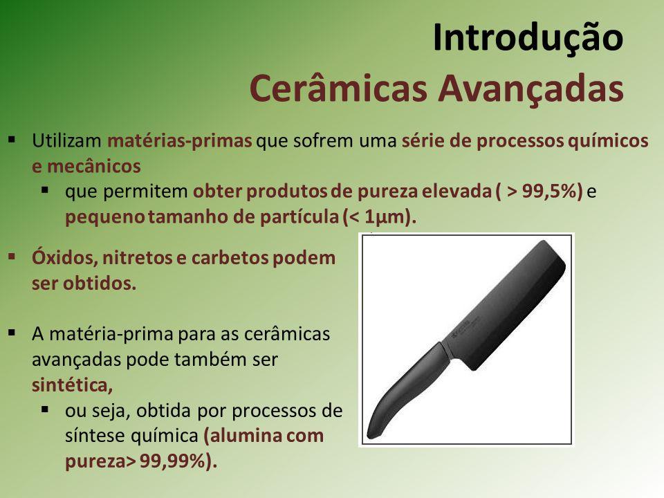 Introdução Cerâmicas Avançadas