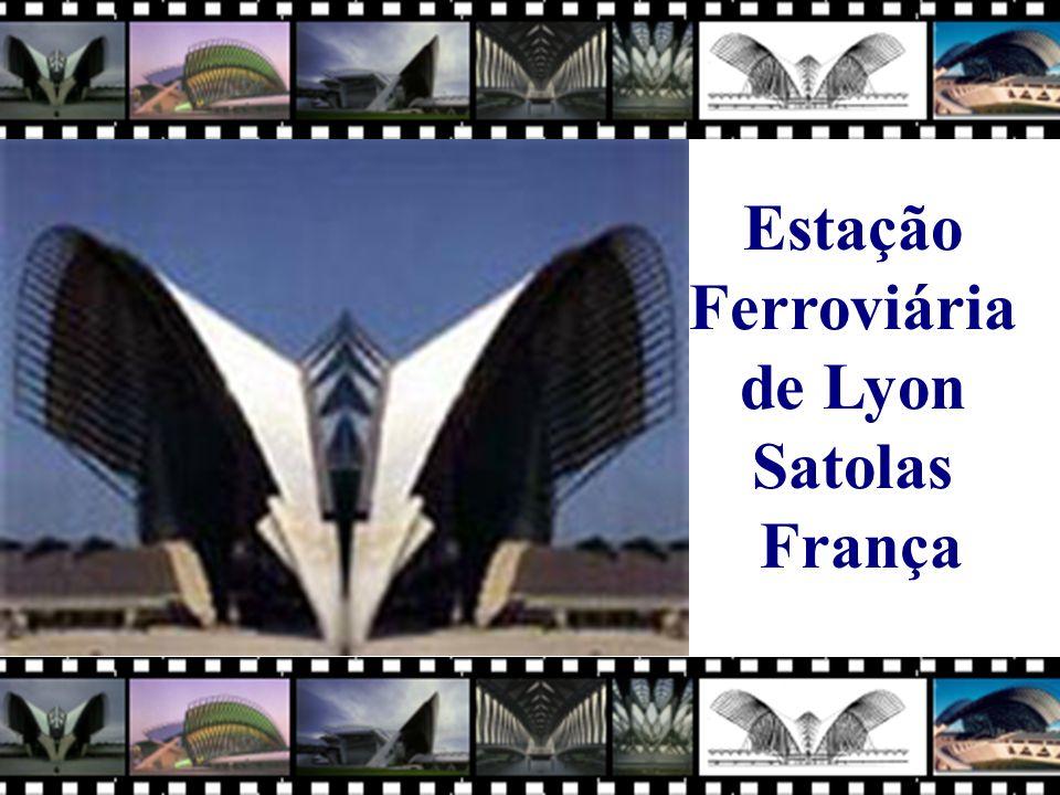 Estação Ferroviária de Lyon Satolas França