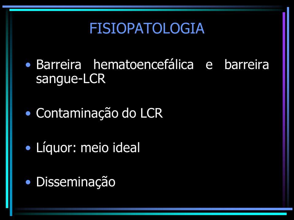 FISIOPATOLOGIA Barreira hematoencefálica e barreira sangue-LCR
