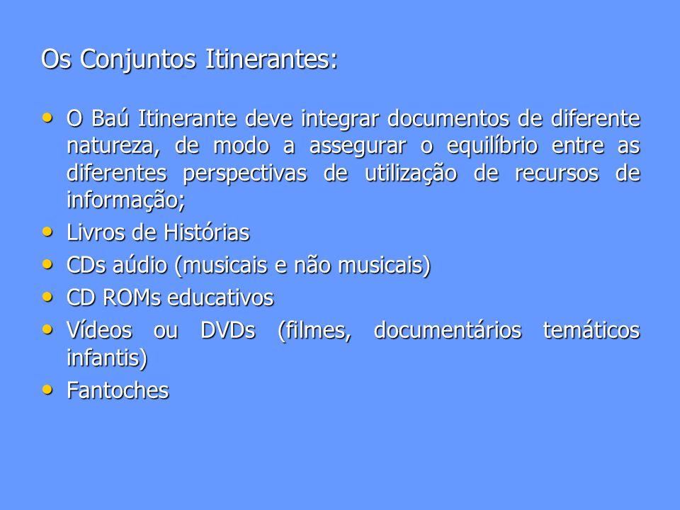 Os Conjuntos Itinerantes: