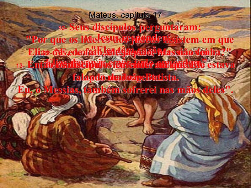 Mateus, capítulo 17