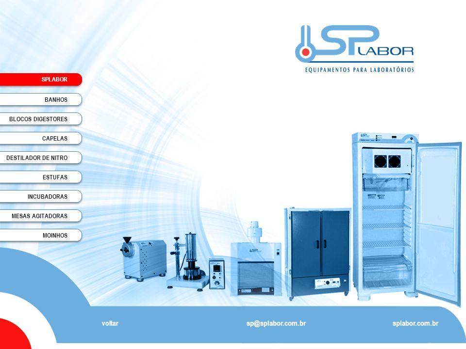 sp@splabor.com.br splabor.com.br voltar SPLABOR BANHOS