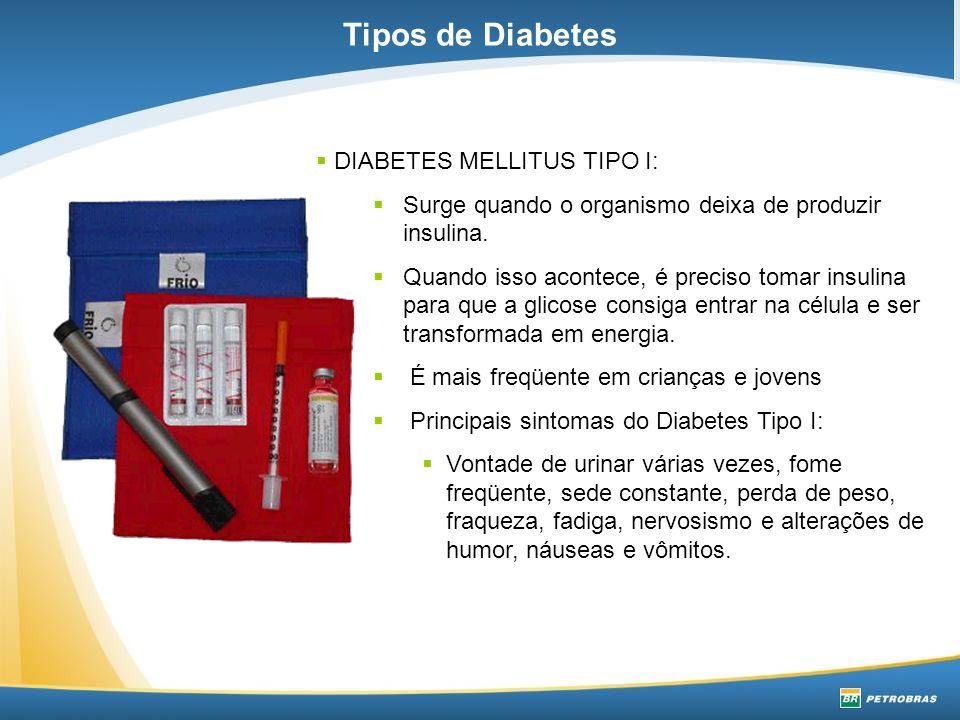 Tipos de Diabetes DIABETES MELLITUS TIPO I: