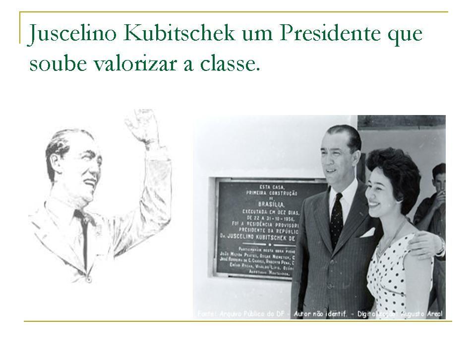 Tópicos: Não é nenhuma novidade falar da imensa capacidade que Juscelino Kubitscheck Teve, de convergir as pessoas em torno de suas idéias.