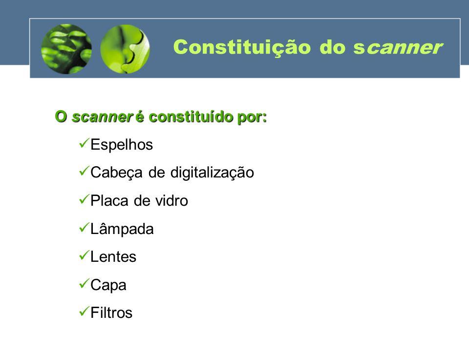 Constituição do scanner