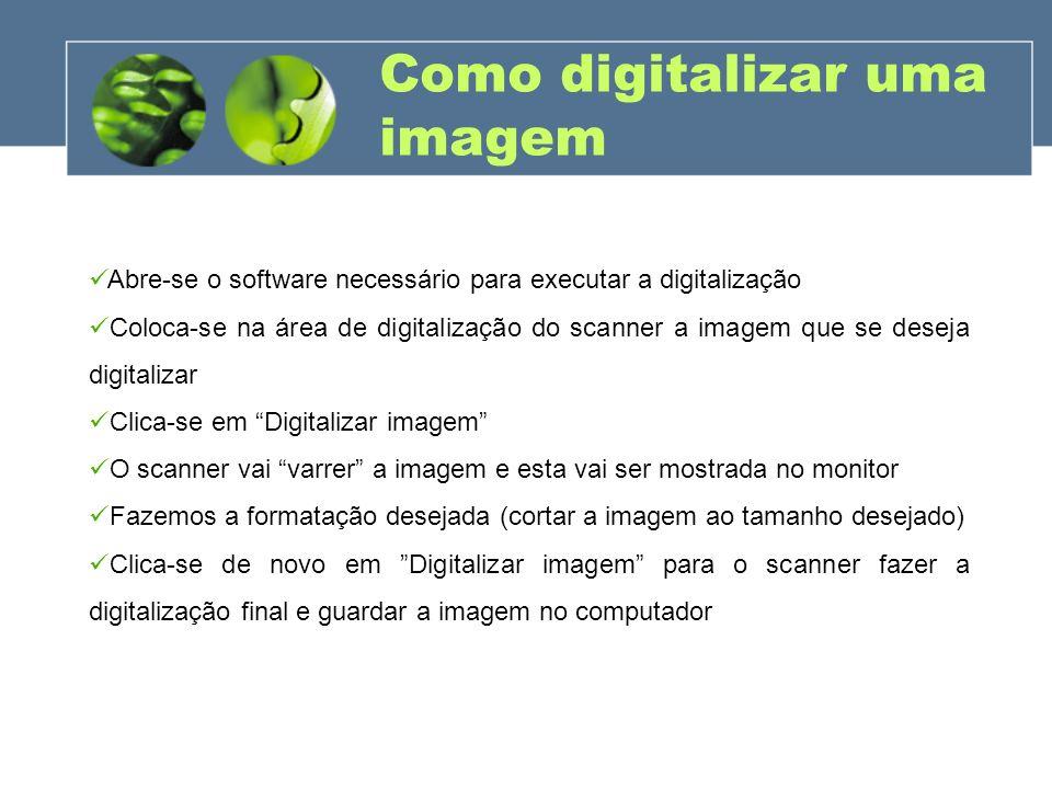 Como digitalizar uma imagem