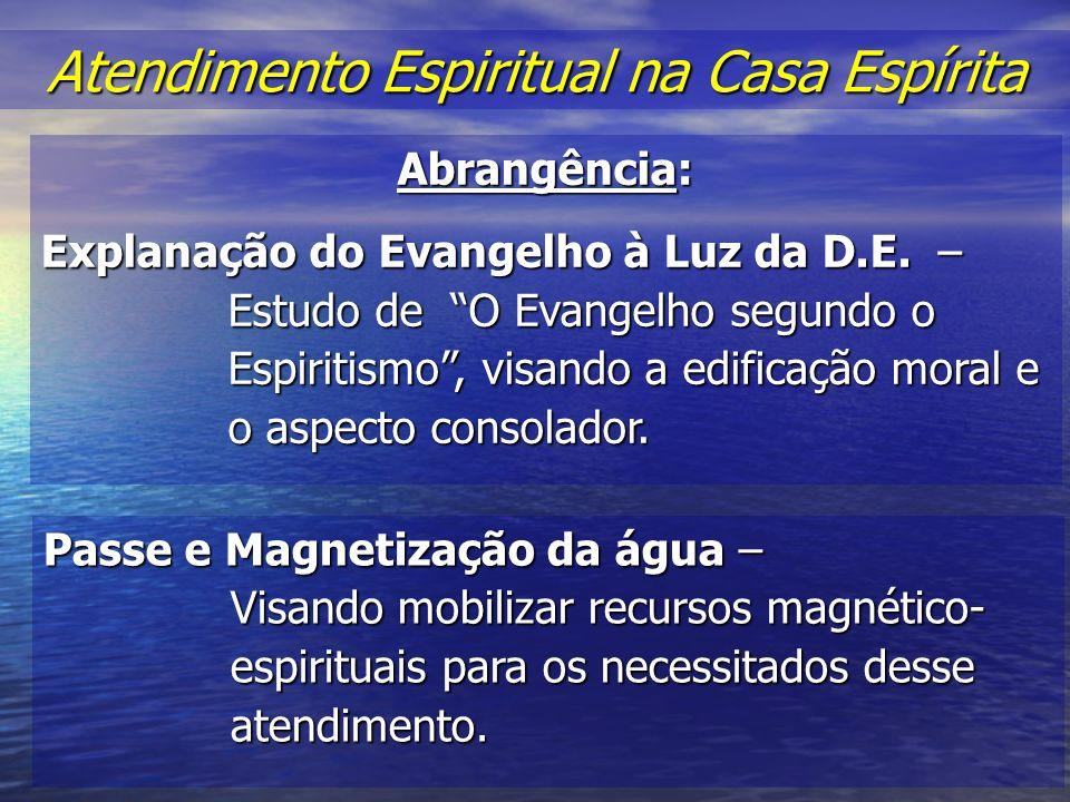 Atendimento Espiritual na Casa Espírita