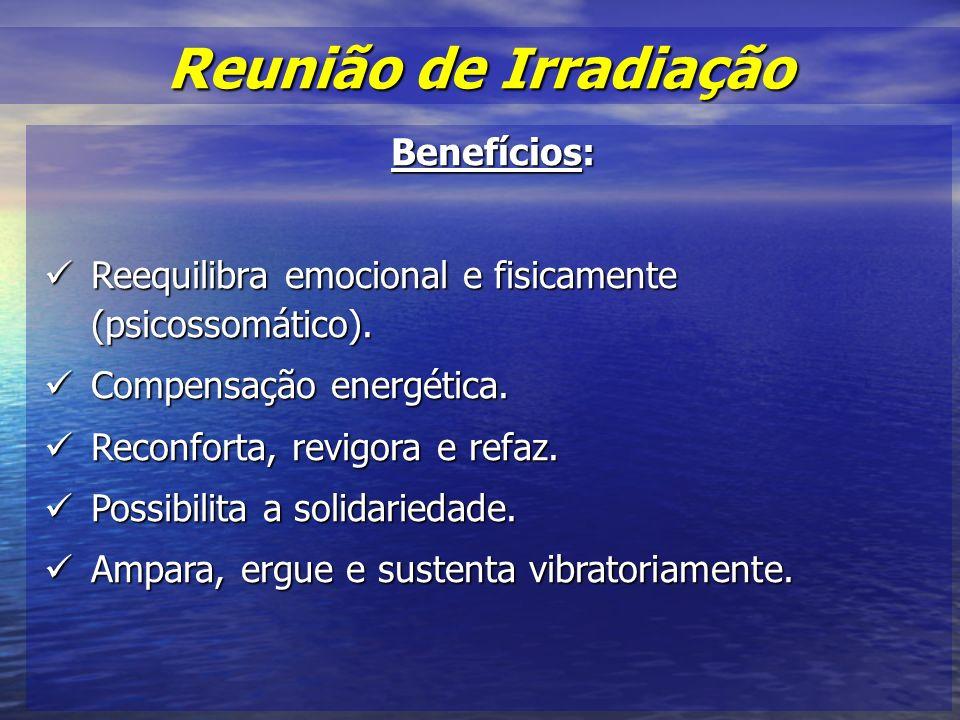 Reunião de Irradiação Benefícios: