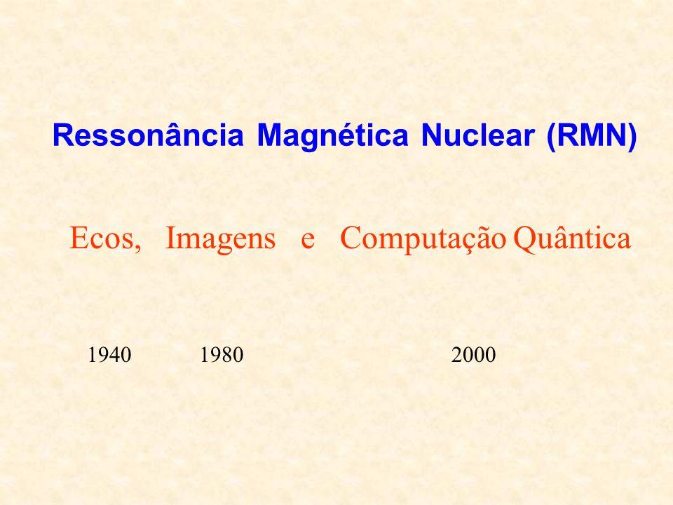 Ressonância Magnética Nuclear (RMN)