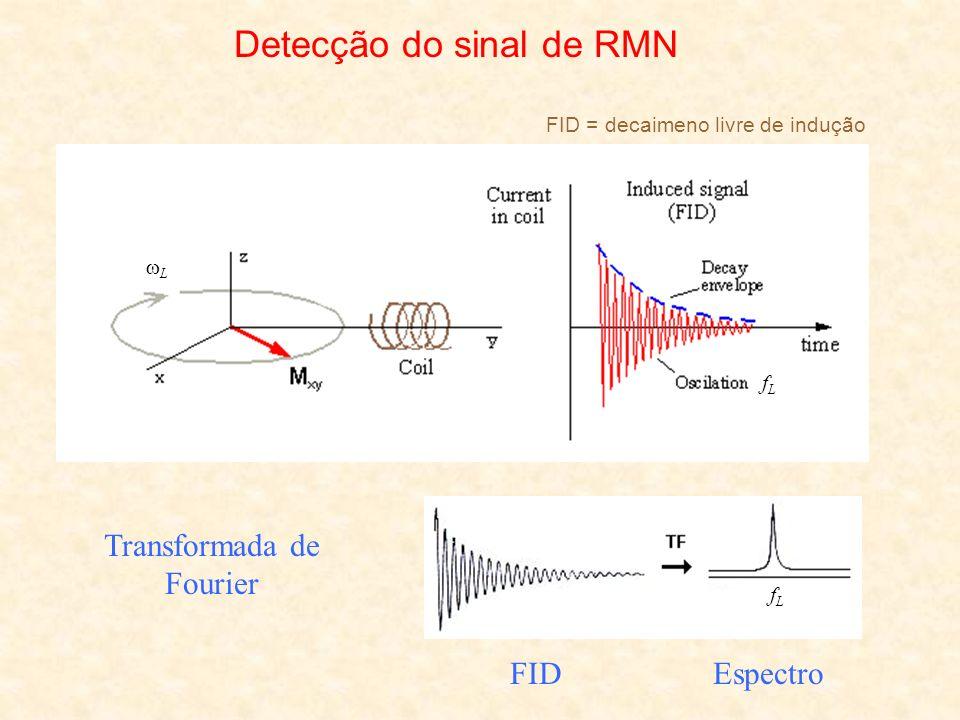 Detecção do sinal de RMN