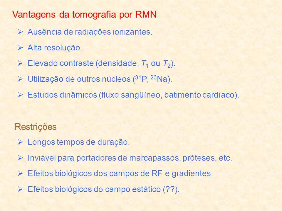 Vantagens da tomografia por RMN