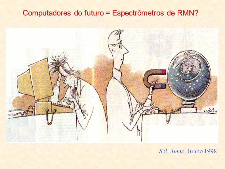 Computadores do futuro = Espectrômetros de RMN