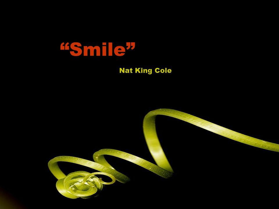 Smile Nat King Cole
