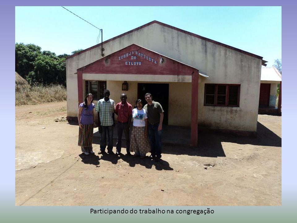 Participando do trabalho na congregação