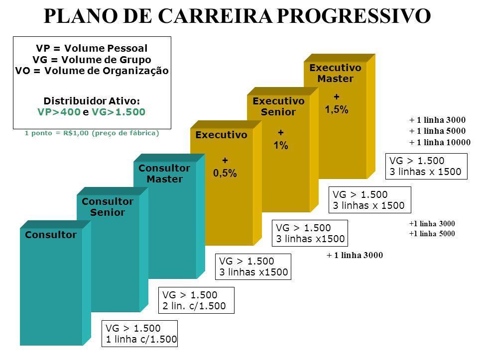 PLANO DE CARREIRA PROGRESSIVO