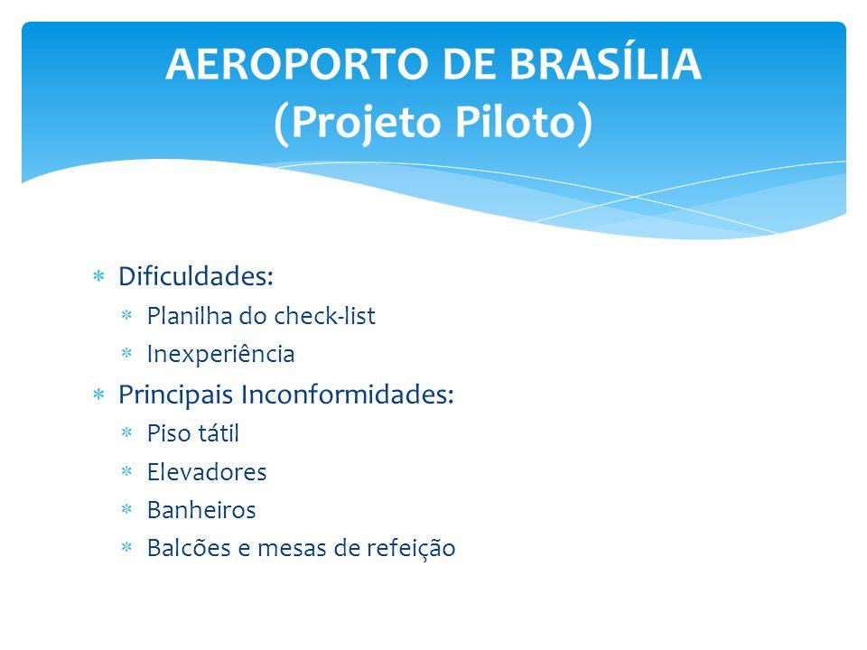 AEROPORTO DE BRASÍLIA (Projeto Piloto)