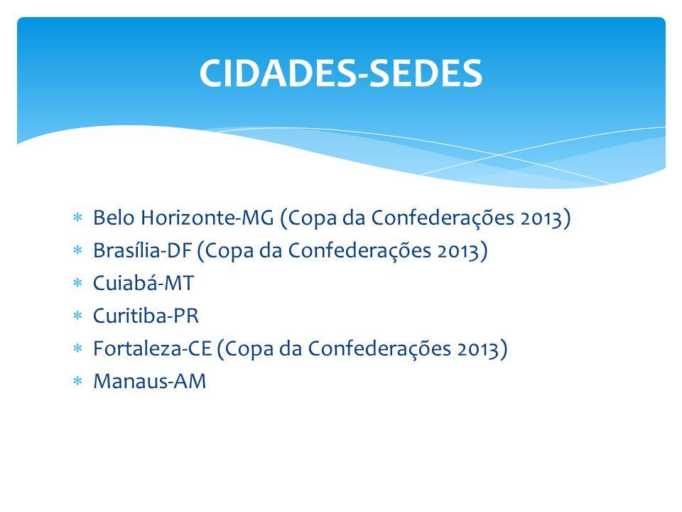 CIDADES-SEDES Belo Horizonte-MG (Copa da Confederações 2013)