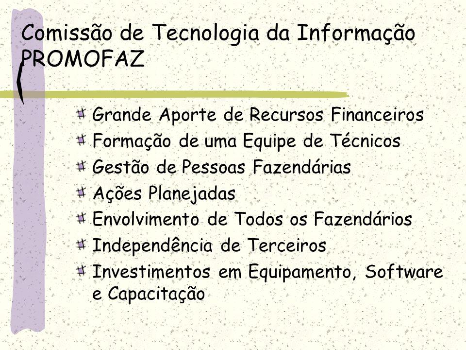 Comissão de Tecnologia da Informação PROMOFAZ
