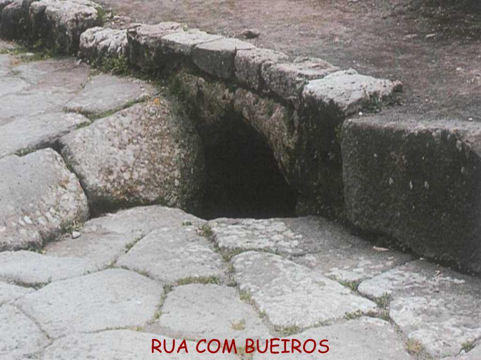 RUA COM BUEIROS