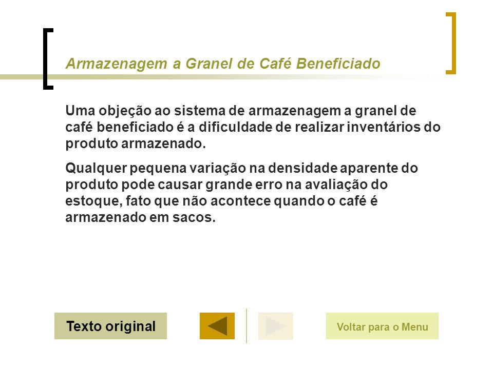 Armazenagem a Granel de Café Beneficiado