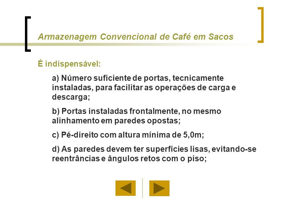 Armazenagem Convencional de Café em Sacos