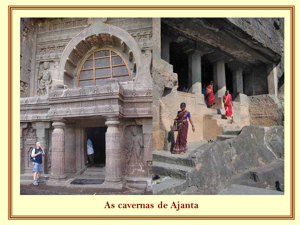 As cavernas de Ajanta
