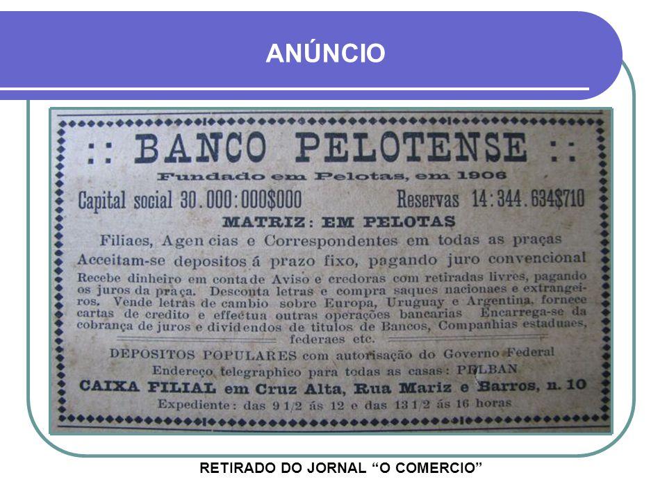 RETIRADO DO JORNAL O COMERCIO