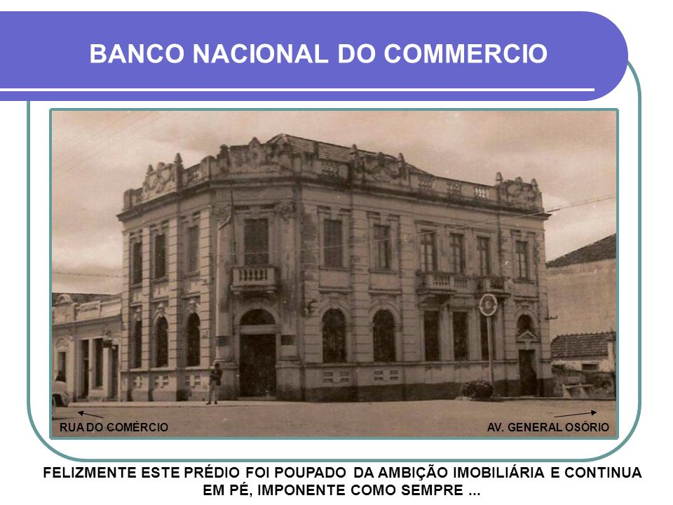 BANCO NACIONAL DO COMMERCIO