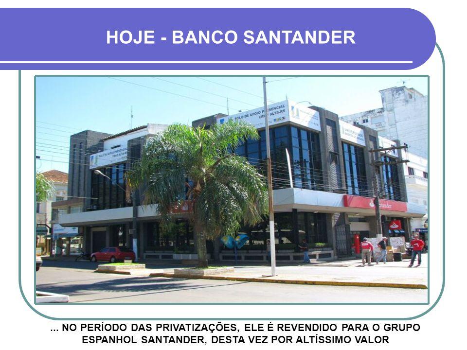 HOJE - BANCO SANTANDER ...