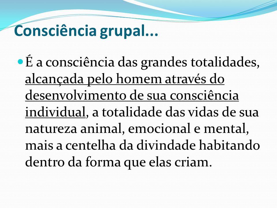 Consciência grupal...