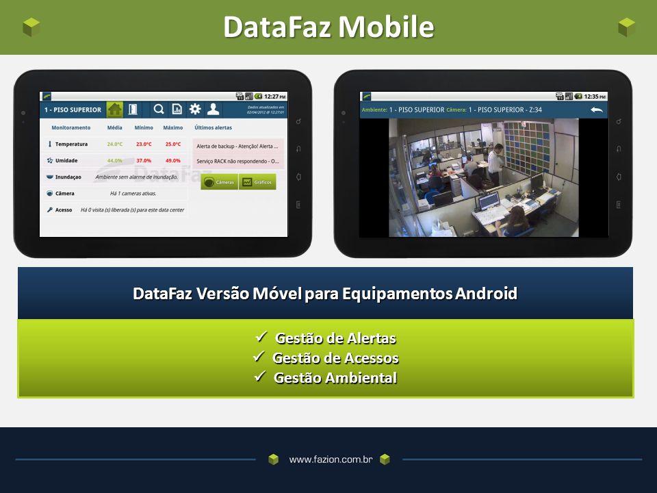 DataFaz Versão Móvel para Equipamentos Android