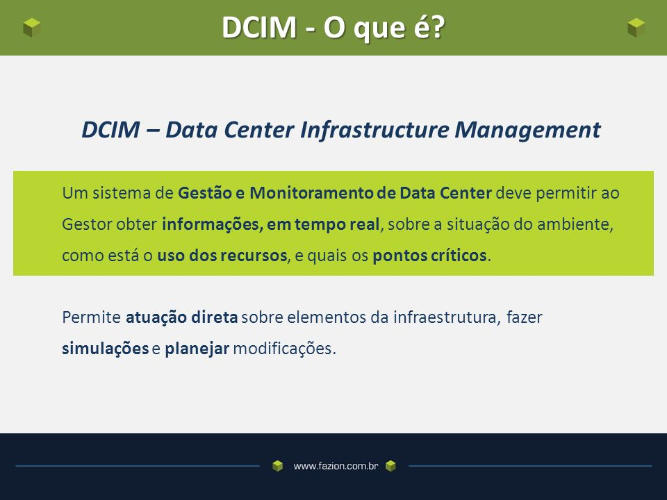 DCIM – Data Center Infrastructure Management