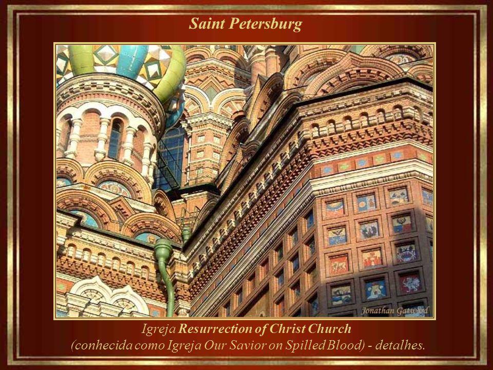 Saint Petersburg Igreja Resurrection of Christ Church