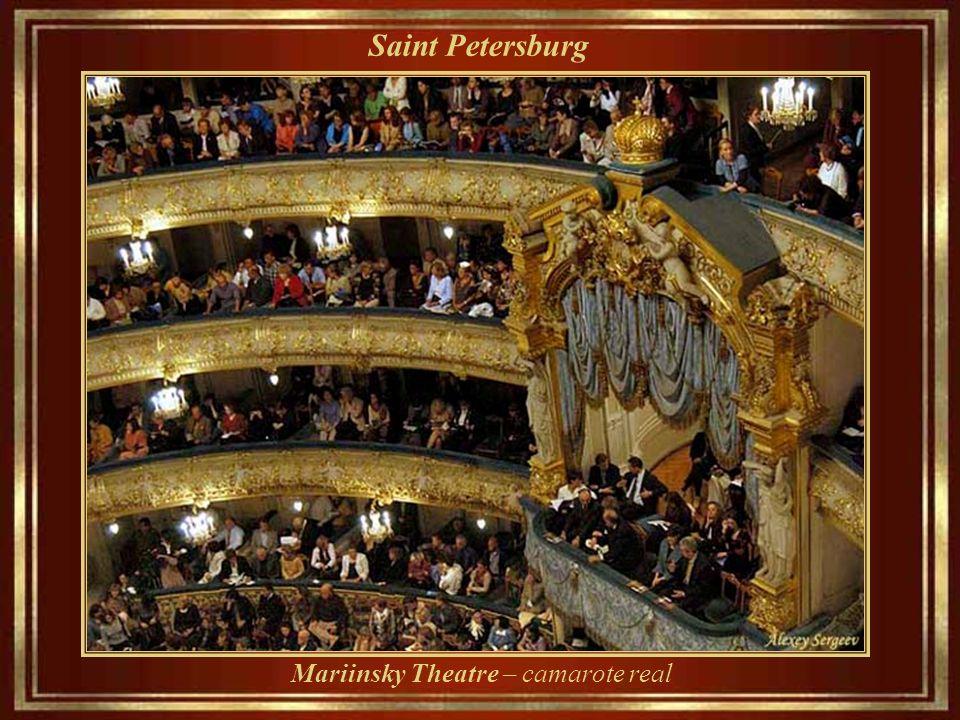 Saint Petersburg Mariinsky Theatre – camarote real