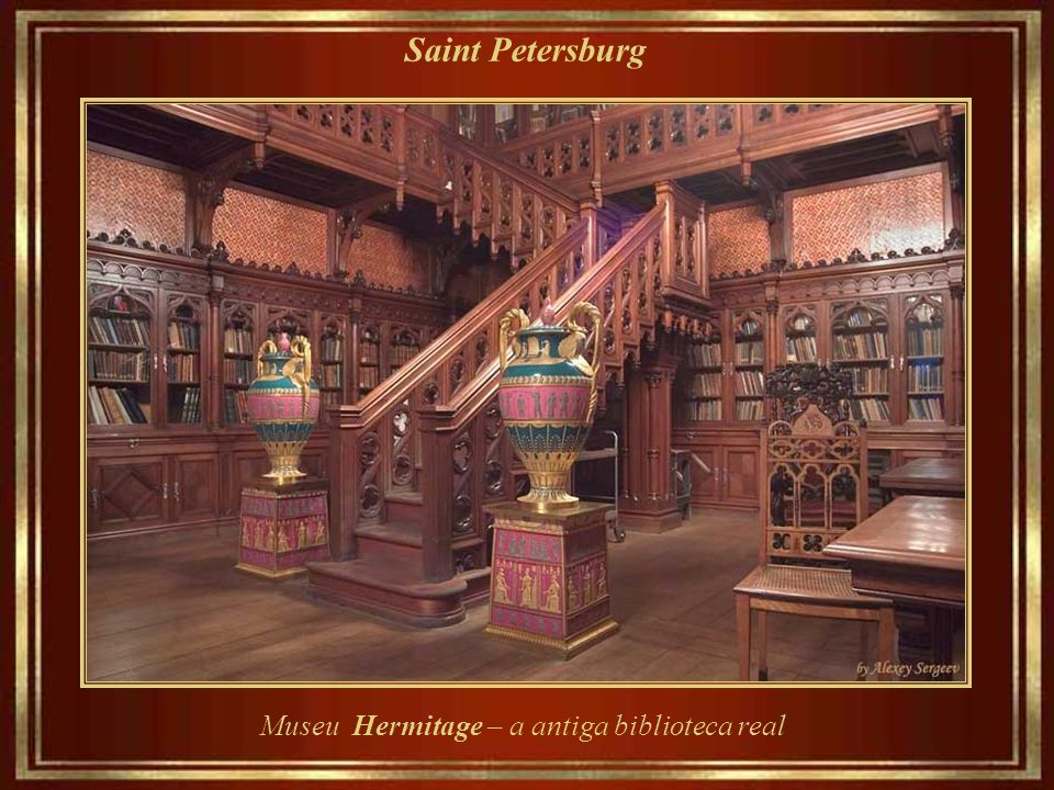 Museu Hermitage – a antiga biblioteca real