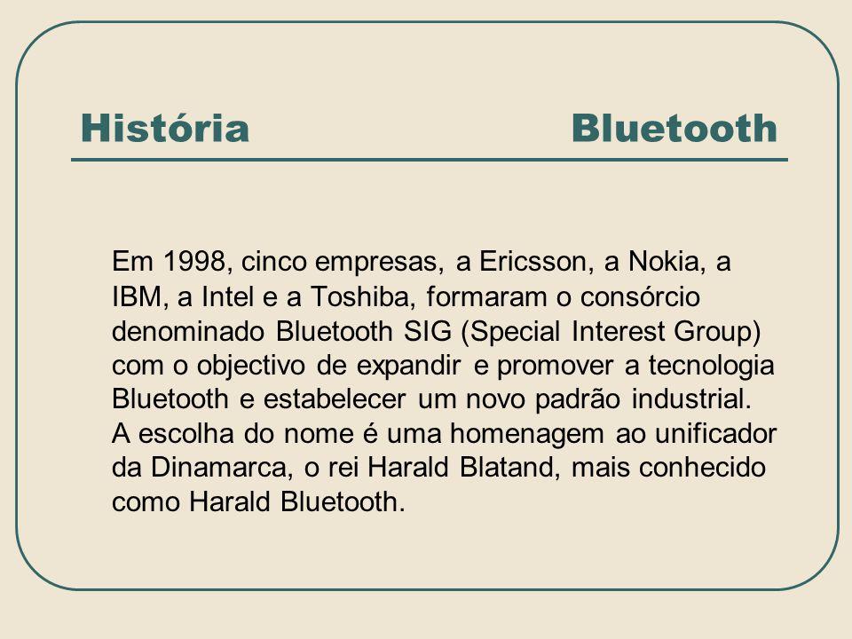 História Bluetooth