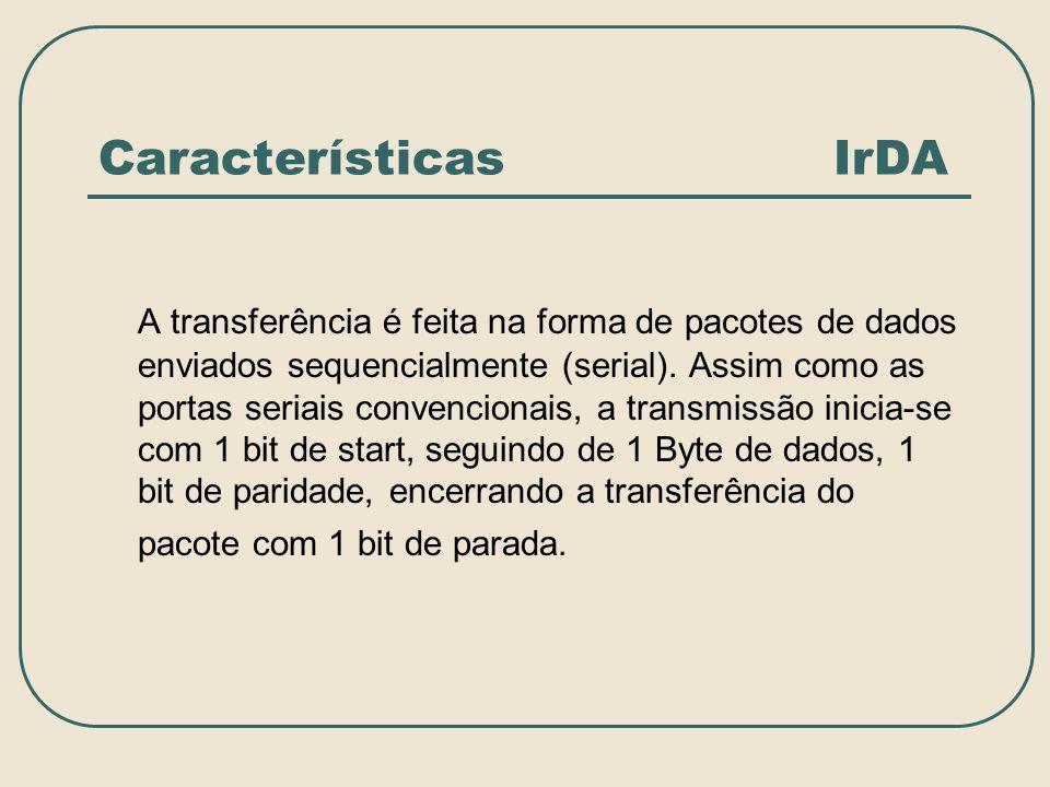 Características IrDA