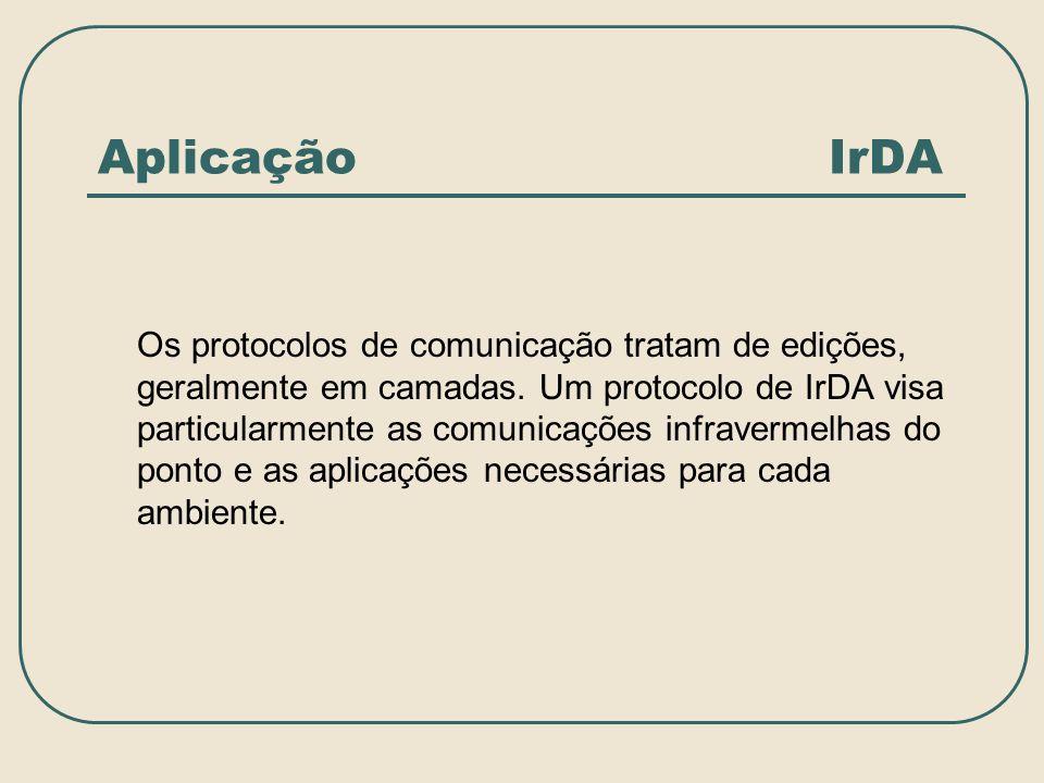 Aplicação IrDA