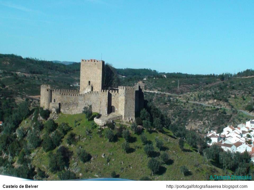 A Terceira Dimensão Castelo de Belver http://portugalfotografiaaerea.blogspot.com